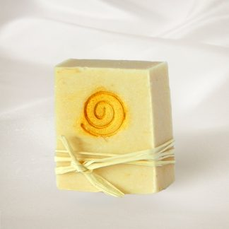 Buttermilch-Aprikosen-Seife